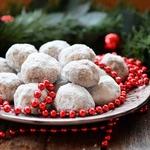 Рождественское печенье Снежки