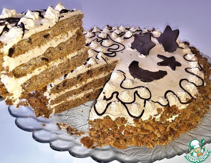 Рецепт: Финиковый торт Арабская ночь