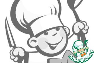 Рецепт: Зелeный супчик с сырными колобками