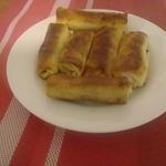 Вегетарианские блинчики с картофельной начинкой