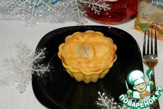 Рецепт: Горячая закуска «Новогоднее чудо»
