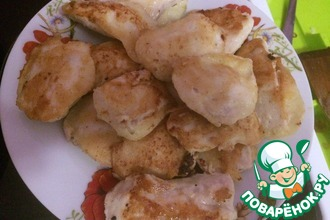 Рецепт: Быстрый кляр для курицы или рыбы