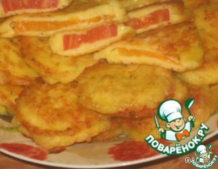 Рецепт: Помидоры в сырном кляре