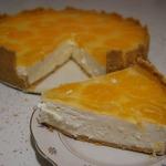 Творожный торт без выпечки Мандаринка