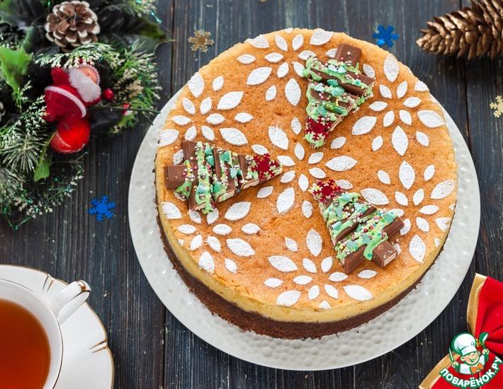 Рецепт: Сырный торт Бельфор