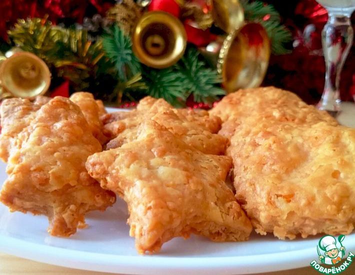 Рецепт: Острые сырные крекеры