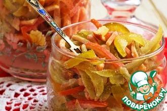 Рецепт: Цукаты из цитрусовых за 25 минут