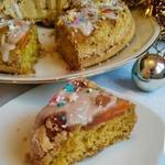 Безглютеновый перевернутый пирог с тыквой