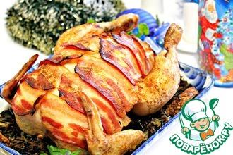 Рецепт: Курица Рыцарь в доспехах