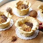 Пирожные Корзинки с двумя видами начинок