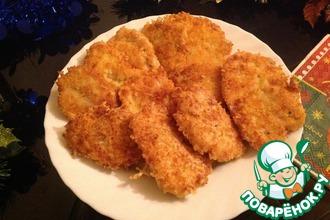 Рецепт: Куриные мини-шницели