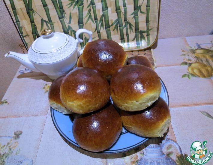 Рецепт: Сдобные булочки Чудо