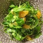 Свежайший салат с мандаринами и авокадо