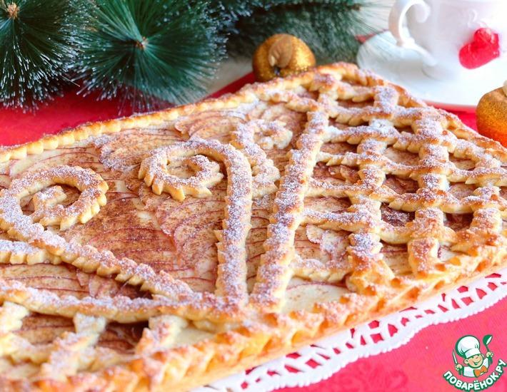 Рецепт яблочного дрожжевого пирога в духовке секреты приготовления