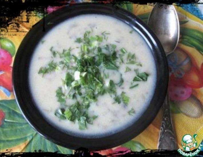 Рецепт: Картофельно-луковый суп Типлокастра