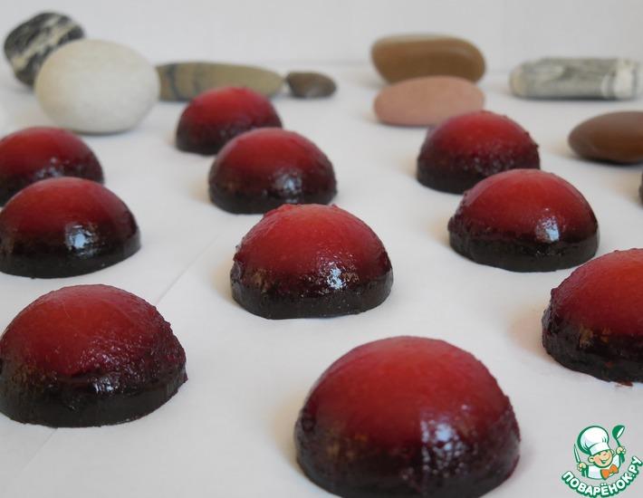Рецепт: Мармелад Морские камешки