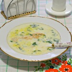 Сливочный суп для холодных дней