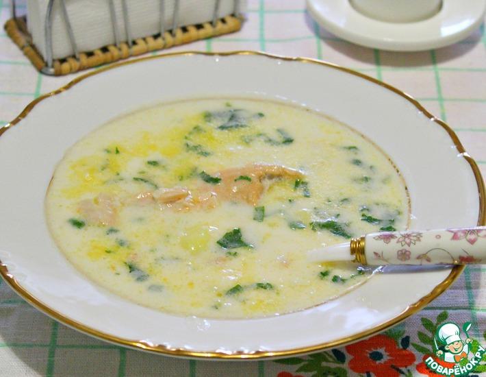 Рецепт: Сливочный суп для холодных дней