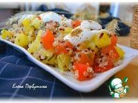 Салат картофельный с помидорами и киноа ингредиенты