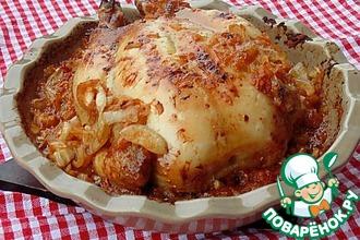 Рецепт: Курица Яблочный штрудель