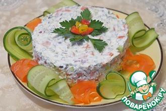 Рецепт: Тартар из слабосоленой семги
