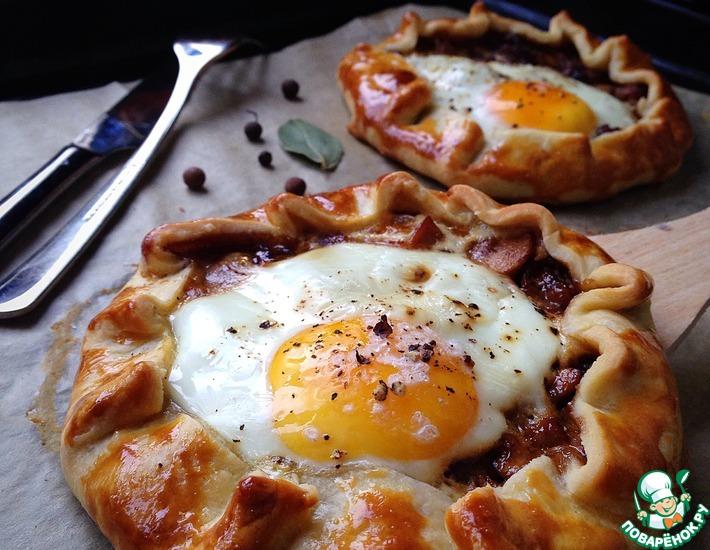 Рецепт: Галета к завтраку