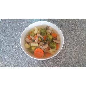 Диетический быстрый суп