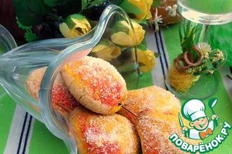 Рецепт: Печенье Грушевая дичка без муки