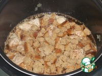 Свинина в пиве с черным хлебом ингредиенты
