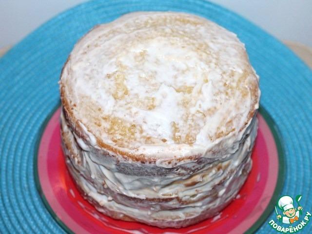 Торт «Белая ночь»
