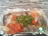 Запеченная в духовке рыба ингредиенты