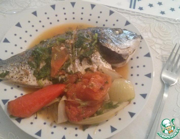Рецепт: Запеченная в духовке рыба