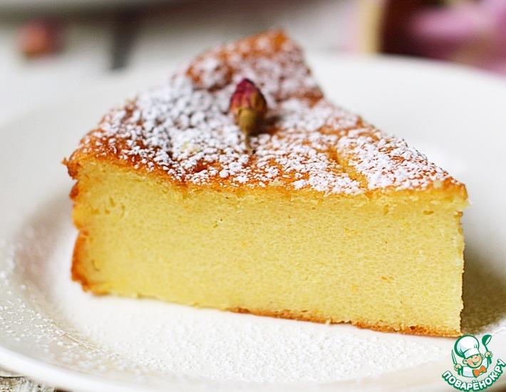 Рецепт: Неаполиатанский пирог с манкой и рикоттой