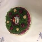 Рождественский веночек – кулинарный рецепт