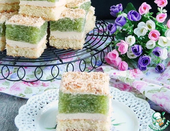 Рецепт: Торт «Яблочная симфония»