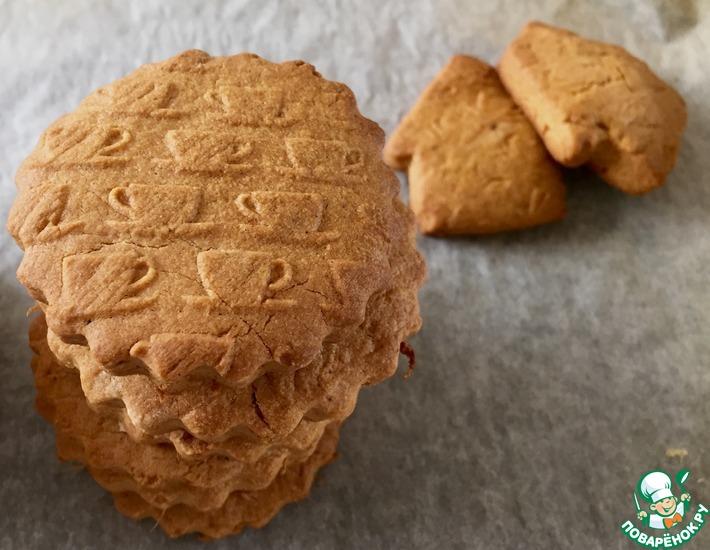 Рецепт: Острое песочное печенье
