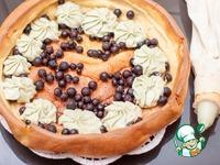 Немецкий панкейк со сливочно-фруктовой начинкой ингредиенты