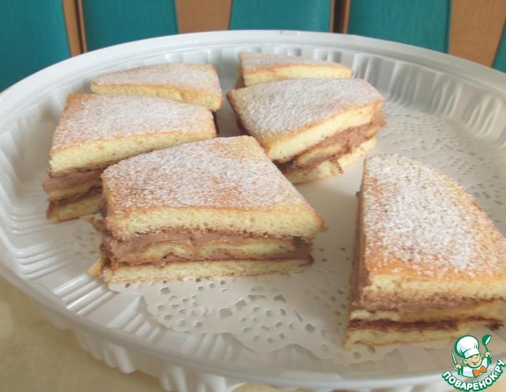 Рецепт: Пирожное Приморское