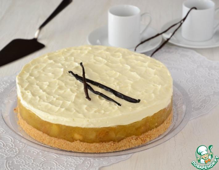 Яблочно-ванильный торт
