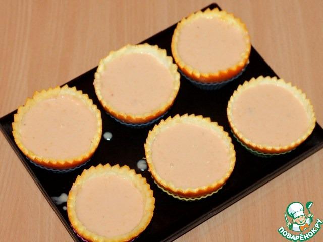 Cырный десерт для фуршета
