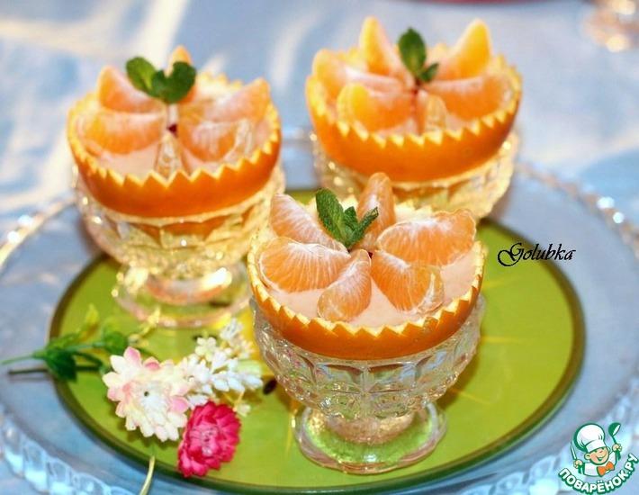 Рецепт: Cырный десерт для фуршета