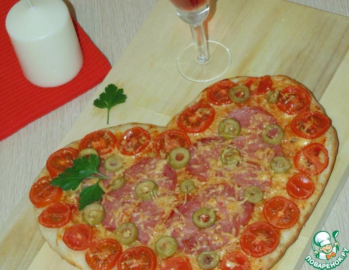 Рецепт: Пирог Люблю пиццу