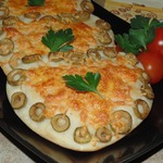 Булочки с сыром и оливками Для любимых
