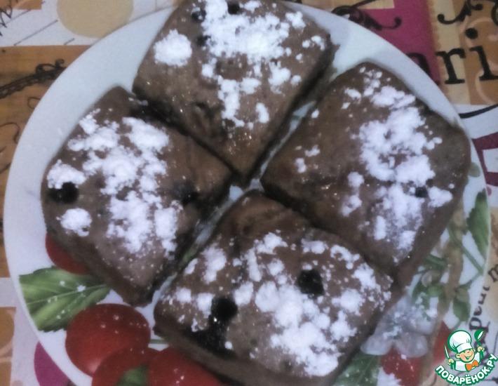 Рецепт: Крейзи кекс в микроволновке