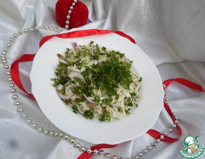 Рецепт: Салат Рыба моя