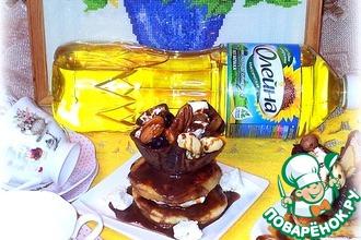 Рецепт: Десерт из блинов и оладий