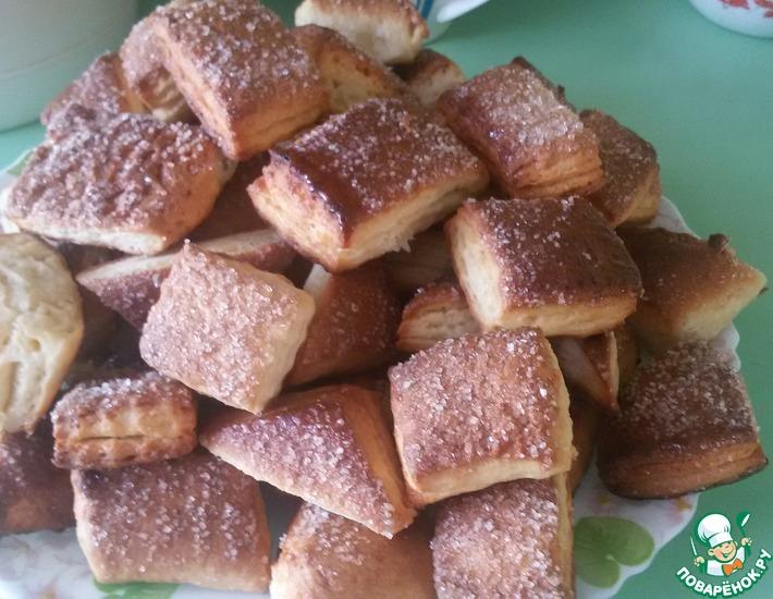 Рецепт: Слоёное печенье Фирменное