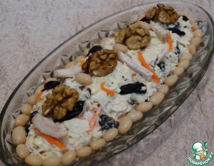 Рецепт: Салат Праздник здоровья