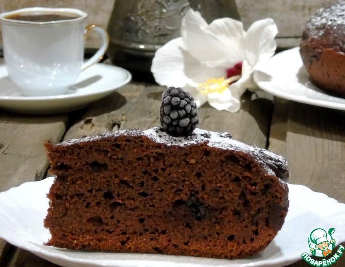 Рецепт: Свекольно-шоколадный пирог