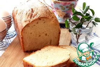 Рецепт: Пышный рисовый хлеб к завтраку